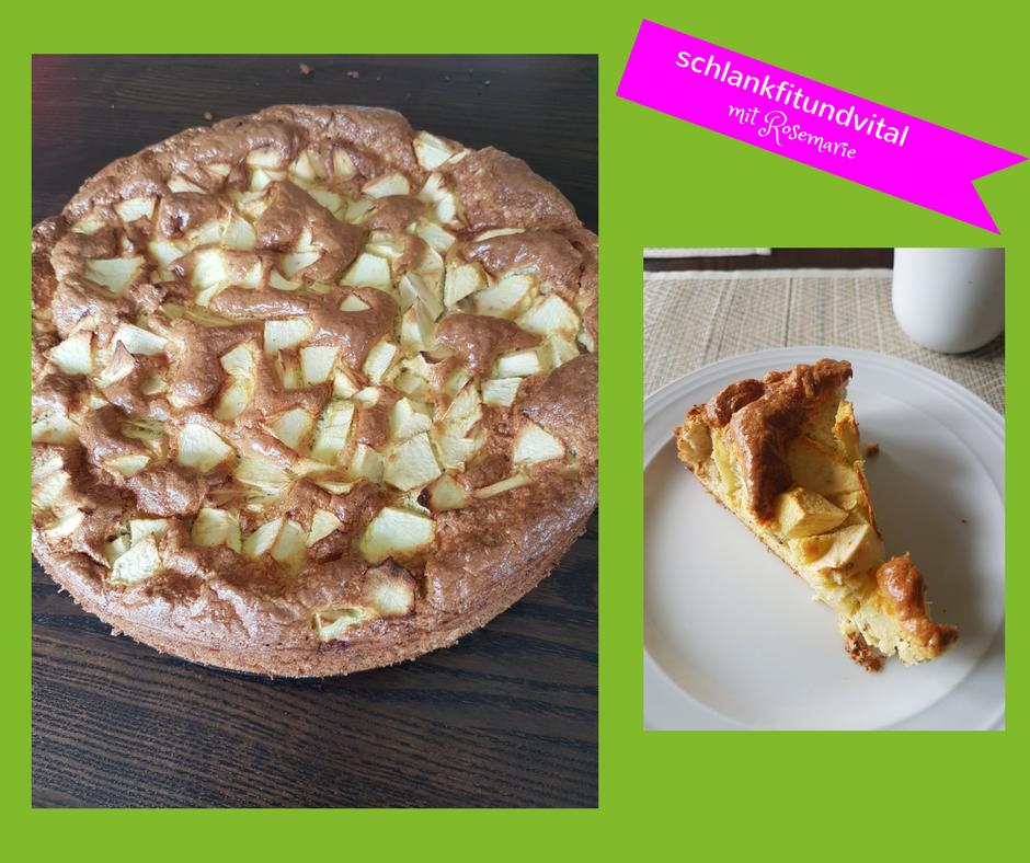 leckerer Apfelkuchen ohne Mehl